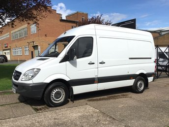 2012 MERCEDES-BENZ SPRINTER 2.1 313CDI MWB HIGH ROOF 130BHP BLUE EFFICIENCY. 1 OWNER. £5990.00