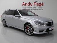 USED 2012 62 MERCEDES-BENZ E CLASS 5.5 E63 AMG 5d AUTO 518 BHP