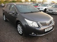 USED 2009 59 TOYOTA AVENSIS 2.0 TR D-4D 5d 125 BHP Fsh - 1 Previous owner - Economical and practical