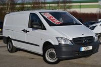 2014 MERCEDES-BENZ VITO 2.1 113CDI Long 136 bhp Van £6999.00