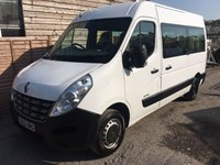 USED 2012 62 RENAULT MASTER 2.3 MM35 DCI COMBI 5d 100 BHP 9 SEATS BUS CAMPER CONVERSION