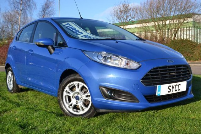 USED 2013 13 FORD FIESTA 1.6 TDCi Zetec ECOnetic 5dr