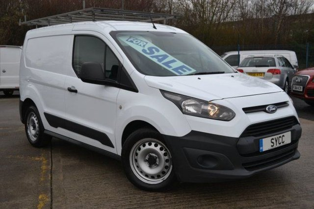 USED 2014 14 FORD TRANSIT CONNECT 1.6 TDCi 95ps Van (CHOICE OF 2 VANS)
