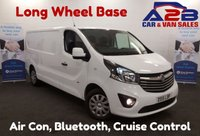 USED 2015 15 VAUXHALL VIVARO 15 Reg Sportive 1.6CDTI 115BHP LWB, Bluetooth, Air Con *Over The Phone Low Rate Finance Available*   *UK Delivery Can Also Be Arranged*           ___       Call us on 01709 866668 or Send us a Text on 07462 824433