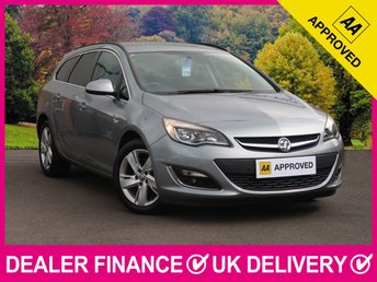 2014 VAUXHALL ASTRA 2.0 CDTI SRI AUTOMATIC ESTATE £7350.00