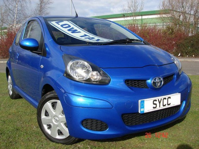 2010 60 TOYOTA AYGO 1.0 VVT-i Blue 3dr
