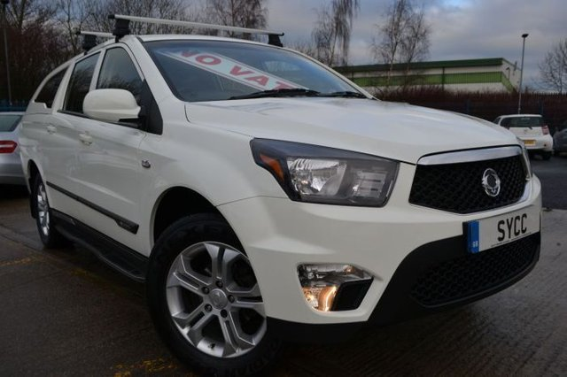 2013 13 SSANGYONG KORANDO SPORTS 2.0 Pick Up EXT 5dr Auto 4WD 153 BHP