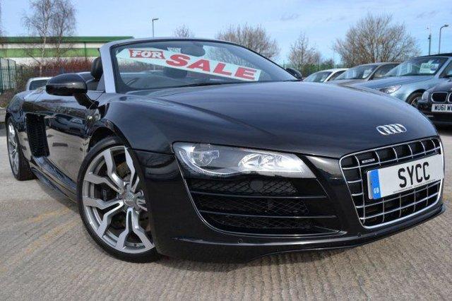 2011 AUDI R8 5.2 FSI Quattro 2dr R Tronic SPYDER *** VAT QUALIFYING CAR £69500 INCLUDING VAT ***