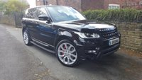 2016 LAND ROVER RANGE ROVER SPORT 4.4 SDV8 AUTOBIOGRAPHY DYNAMIC 5d AUTO 339 BHP £57000.00