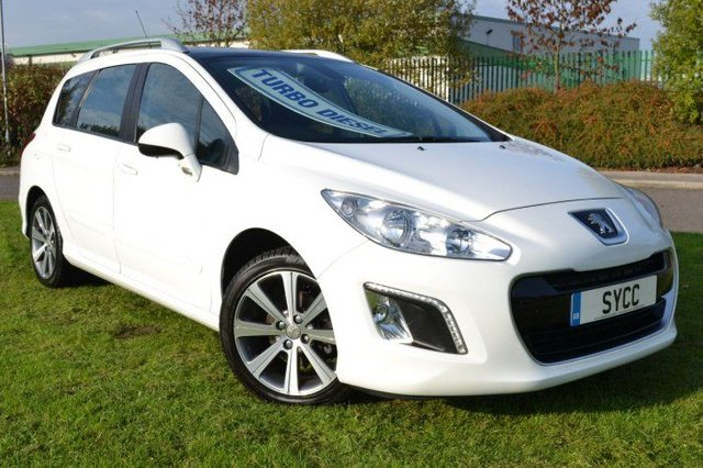 USED 2013 62 PEUGEOT 308 1.6 e-HDi 112 Active 5dr PAN ROOF ~ 6 MONTHS WARRANTY ~ 6 MONTHS BREAKDOWN COVER