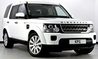 USED 2014 14 LAND ROVER DISCOVERY 4 3.0 SD V6 GS 5dr Auto [8] 1 Owner, F/S/H, Immaculate ++