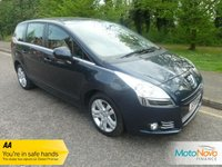 USED 2013 13 PEUGEOT 5008 1.6 HDI ACTIVE 5d 115 BHP Great Value Seven Seat Peugeot 5008 with Satellite Navigation, Air Conditioning, Cruise Control, Alloy Wheels and Service History.