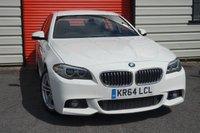 2014 BMW 5 SERIES 2.0 518D M SPORT 4d 148 BHP