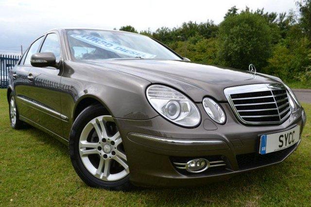 2007 57 MERCEDES-BENZ E CLASS 2.1 E220 CDI Avantgarde 4dr Tip Auto