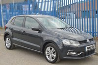 2017 VOLKSWAGEN POLO 1.0 MATCH EDITION 5d 60 BHP £9995.00