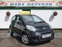 USED 2010 59 CITROEN C1 1.0 VTR PLUS 5d 68 BHP FULL HISTORY, £20 ROAD TAX, 2 OWNERS FROM NEW