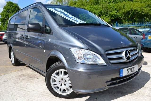 2011 11 MERCEDES-BENZ VITO 2.1 116CDI Dualiner 5 Seat 163 BHP Window/Crew Van