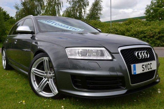 2009 09 AUDI A6 5.0T FSI V10 RS6 Quattro 5dr Tip Auto