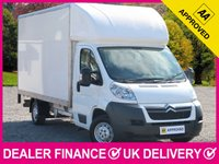 USED 2013 13 CITROEN RELAY 2.2 HDI 35 L3 LWB LUTON VAN 130 BHP 13FT 6 BODY 3 SEATS 6 SPEED 13FT 6 INCH BODY 130 BHP