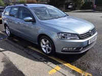 2013 VOLKSWAGEN PASSAT 1.6 S TDI BLUEMOTION TECHNOLOGY 5d 104 BHP £7900.00