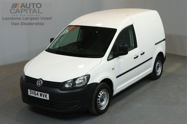2014 64 VOLKSWAGEN CADDY 1.6 C20 TDI STARTLINE 101 BHP SWB ONE OWNER FROM NEW, SERVICE HISTORY