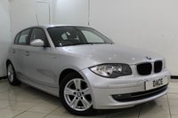 USED 2007 07 BMW 1 SERIES 2.0 118D SE 5DR AUTOMATIC 141 BHP FULL SERVICE HISTORY + CRUISE CONTROL + PARKING SENSOR + MULTI FUNCTION WHEEL + CLIMATE CONTROL + AUXILIARY PORT + ELECTRIC WINDOWS + 16 INCH ALLOY WHEELS