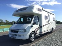 USED 2006 06 FIAT DUCATO MOTORHOME 2800cc DIESEL KONTIKI 645 - SWIFT Low Mileage, Excellent Condition