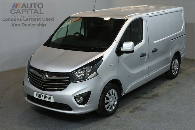 2017 17 VAUXHALL VIVARO 1.6 2900 SPORTIVE 120 BHP SWB LOW ROOF A/C E6 ONE OWNER FROM NEW, SERVICE HISTORY
