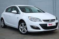 USED 2013 62 VAUXHALL ASTRA 1.4 SRI 5d 98 BHP FULL SERVICE HISTORY + CRUISE