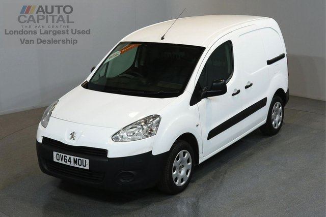 2014 64 PEUGEOT PARTNER 1.6 E-HDI SE 89 BHP SWB AUTO ONE OWNER FROM NEW, FULL SERVICE HISTORY