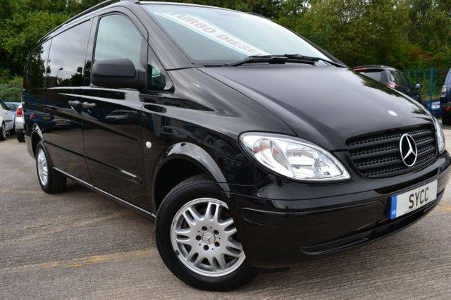 2010 59 MERCEDES-BENZ VITO 2.1 115CDI Traveliner 8-Seater Mini Bus 150 BHP