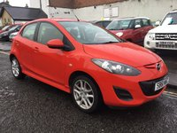 USED 2012 61 MAZDA 2 1.3 TAMURA 5d 83 BHP OUR  PRICE INCLUDES A 6 MONTH AA WARRANTY DEALER CARE EXTENDED GUARANTEE, 1 YEARS MOT AND A OIL & FILTERS SERVICE. 6 MONTHS FREE BREAKDOWN COVER.
