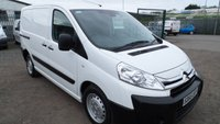 2015 CITROEN DISPATCH 1.6 1000 L1H1 ENTERPRISE HDI 1d 89 BHP
