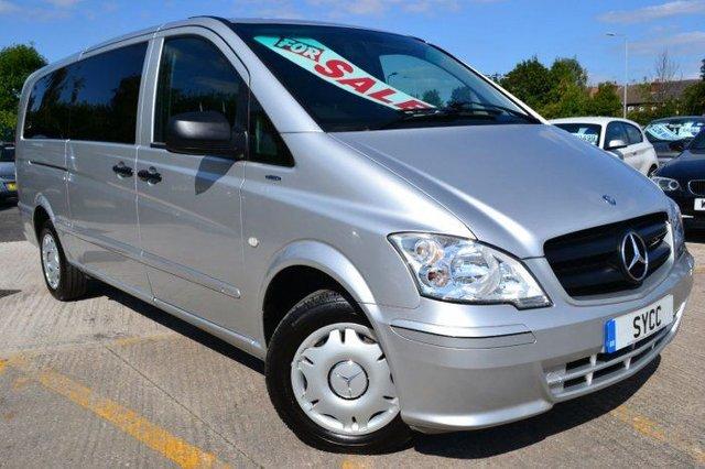 2012 12 MERCEDES-BENZ VITO 2.1 VITO 113 CDI TRAVELINER Extra Long 8 Seat Mini Bus