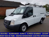 2014 FORD TRANSIT 125 BHP 260 SWB WITH ONLY 30,000 MILES £8995.00