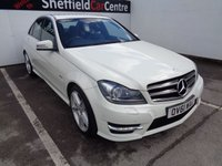 2012 MERCEDES-BENZ C CLASS 2.1 C220 CDI BLUEEFFICIENCY SPORT 4d 168 BHP £10475.00