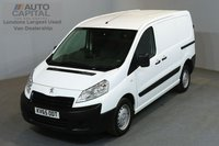 USED 2015 65 PEUGEOT EXPERT 1.6 HDI 1000 PROFESSIONAL 90 BHP L1 H1 SWB LOW ROOF A/C ONE OWNER FROM NEW, MOT UNTIL 19/11/2018