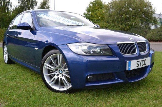 2008 BMW 3 SERIES 3.0TD 335d M Sport Saloon 4d 2993cc auto