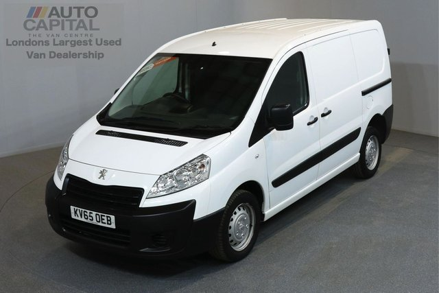 2015 65 PEUGEOT EXPERT 1.6 HDI 1000 PROFESSIONAL 90 BHP SWB LOW ROOF A/C ONE OWNER FROM NEW, MOT UNTIL 19/11/2018