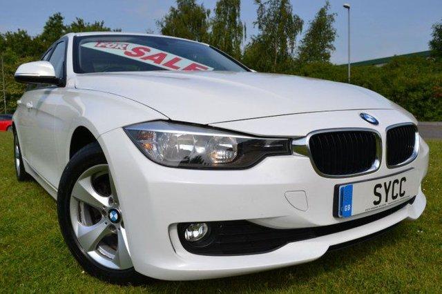 2012 12 BMW 3 SERIES 2.0 320d EfficientDynamics 4dr