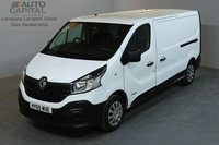 USED 2015 65 RENAULT TRAFIC 1.6 LL29 BUSINESS 115 BHP L2 H1 LWB LOW ROOF ONE OWNER FROM NEW
