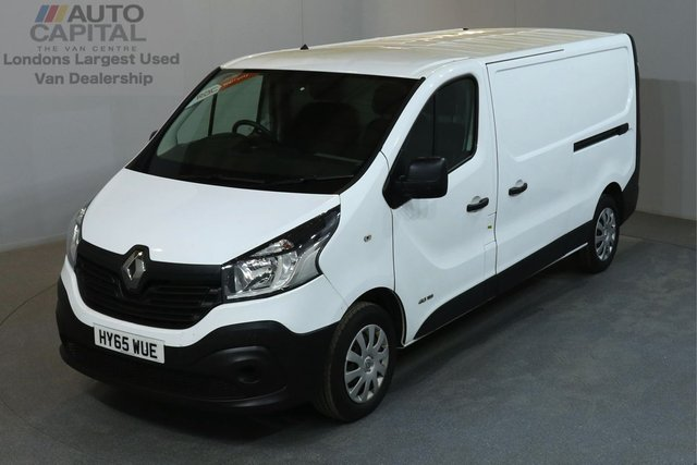 2015 65 RENAULT TRAFIC 1.6 LL29 BUSINESS 115 BHP L2 H1 LWB LOW ROOF ONE OWNER FROM NEW