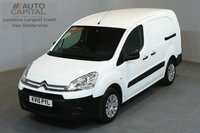 USED 2015 15 CITROEN BERLINGO 1.6 750 HDI 89 BHP LWB LOW ROOF  ONE OWNER FROM NEW, MOT UNTIL 22/03/2019