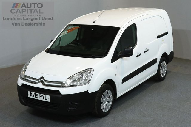 2015 15 CITROEN BERLINGO 1.6 750 HDI 89 BHP LWB LOW ROOF  ONE OWNER FROM NEW, MOT UNTIL 22/03/2019