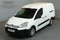 USED 2015 15 CITROEN BERLINGO 1.6 750 HDI 89 BHP LWB LOW ROOF ONLY ONE OWNER FROM NEW, MOT UNTIL 26/04/2019