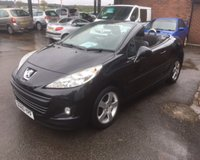 USED 2010 60 PEUGEOT 207 1.6 CC SPORT 2d 120 BHP ONLY 53K MILES COUPE CABRIOLET CONVERTIBLE