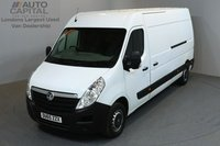 USED 2015 65 VAUXHALL MOVANO 2.3 F3500 109 BHP L3 H2 LWB MEDIUM ROOF ONE OWNER FROM NEW, MOT UNTIL 30/12/2018