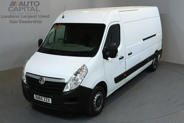 2015 65 VAUXHALL MOVANO 2.3 F3500 109 BHP L3 H2 LWB MEDIUM ROOF ONE OWNER FROM NEW, MOT UNTIL 30/12/2018