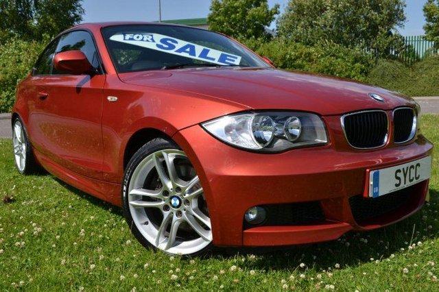 2010 10 BMW 1 SERIES 2.0 123d M Sport 2dr