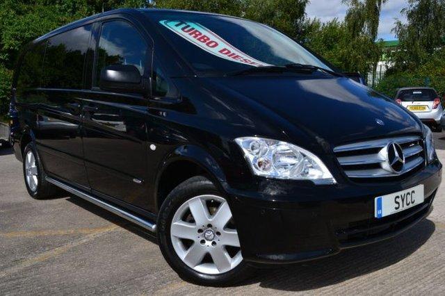 2012 12 MERCEDES-BENZ VITO 2.1 116CDI Dualiner Sport Window Van 163 BHP Long LWB
